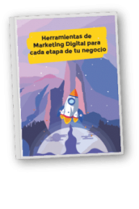 Portada Ebook Herramientas de Marketing Digital para cada etapa de tu negocio